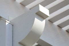 Aluminiumpergola Lizenzfreie Stockfotografie