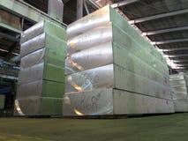 Aluminiumplatte Lizenzfreie Stockfotos