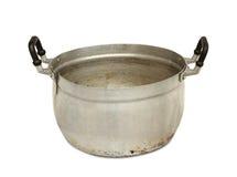 Aluminiumpot Royalty-vrije Stock Foto's