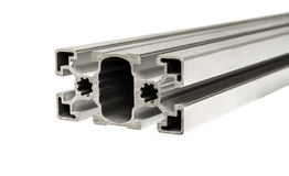 Aluminiumprofiel stock fotografie