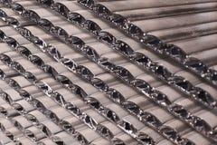 Aluminiumprofile Lizenzfreie Stockfotos