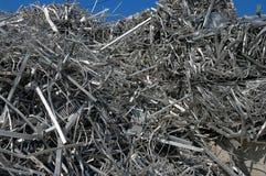 Aluminiumschrott Lizenzfreies Stockfoto