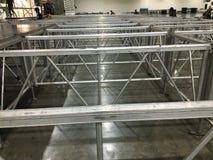 Aluminiumstructuur Stock Afbeelding