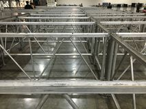 Aluminiumstructuur Royalty-vrije Stock Fotografie