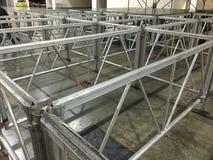 Aluminiumstructuur Royalty-vrije Stock Foto