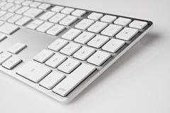Aluminiumtastatur lizenzfreie stockfotos