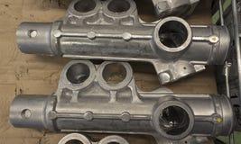 Aluminiumteil Lizenzfreie Stockfotografie