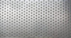 Aluminiumtextuur Stock Foto's