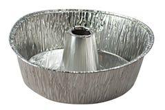 Aluminiumtorte-Wanne Lizenzfreie Stockfotografie