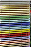 Aluminiumvorhänge Lizenzfreie Stockbilder