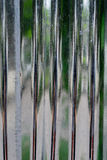 Aluminiumwand Lizenzfreie Stockfotos