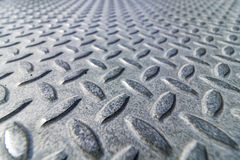 Aluminiumwarzenblech-Abschluss Stockbild