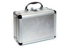 Aluminiun resväska Royaltyfria Bilder