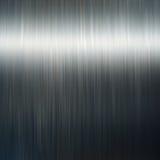 Aluminum. Polished aluminum palte with light Royalty Free Stock Photography