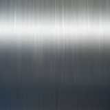 Aluminum. Polished aluminum palte with light Stock Photos