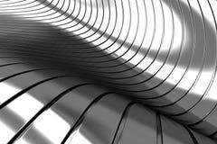Aluminum abstract silver Stock Photos