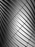Aluminum abstract silver stripe pattern background. 3d illustration Stock Photos