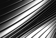 Aluminum abstract silver stripe pattern background. 3d illustration Stock Photography