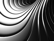 Aluminum Abstract Silver Stripe Pattern Background. 3d render illustration Stock Photos