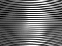 Aluminum abstract stripe pattern Royalty Free Stock Image