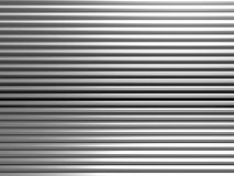 Aluminum abstract stripe pattern. Aluminum abstract silver pattern background 3d illustration Stock Photography