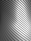 Aluminum abstract stripe pattern Stock Photography