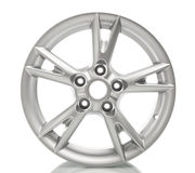 Aluminum alloy wheel Royalty Free Stock Photos