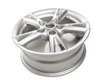 Aluminum alloy wheel Stock Photos