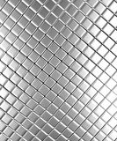 Aluminum background. Square pattern aluminum background 3d rendered Stock Photos