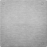 aluminum bakgrundssilver Arkivfoton