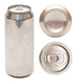 Aluminum beer can Stock Photos