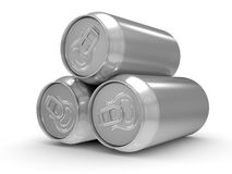 Aluminum beer can Stock Photo