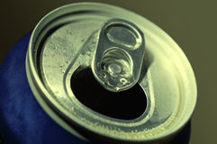 Aluminum beer can Royalty Free Stock Photography
