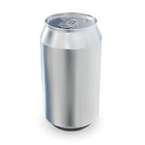 Aluminum beer cans Royalty Free Stock Photo