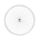 Aluminum bicycle wheel Stock Photos