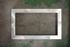 Aluminum bildram Arkivbild