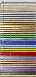 Aluminum blinds Stock Photos
