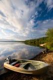 Aluminum Boat Stock Photography