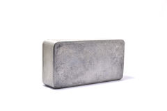 Aluminum box Royalty Free Stock Photos