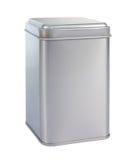 An aluminum Box Stock Image