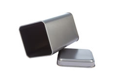 An aluminum Box Royalty Free Stock Images