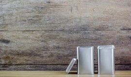 An aluminum Box top Royalty Free Stock Photography