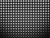 Aluminum brilliant sphere shiny pattern. 3d illustration Stock Photography