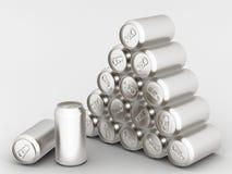 Aluminum can royalty free illustration