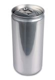 Aluminum can of 200 ml prosecco, blank Stock Images