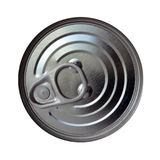 Aluminum Can with Pull Tab Royalty Free Stock Image