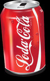Aluminum Can, Soft Drink, Drink, Carbonated Soft Drinks Stock Images