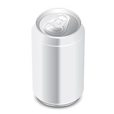 Aluminum can. Stock Photo