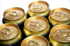 Aluminum cans Stock Photo