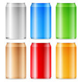 Aluminum cans Royalty Free Stock Photography